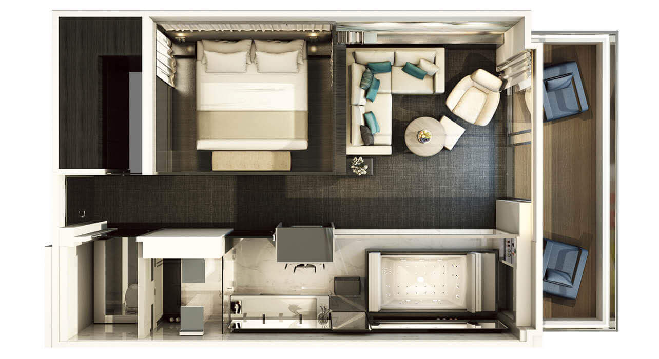 Click here to view Verandah Suite layout